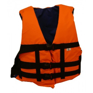 Спасательный жилет взрослый ПТК Спорт Дельфин сигнального цвета М3С арт. 034-1776