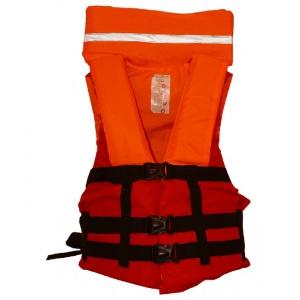 Спасательный жилет взрослый ПТК Спорт Дельфин сигнального цвета М4С арт. 034-1777