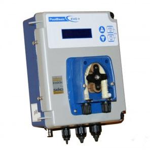 Станция дозирования Seko PoolBasic Evo Plus pH Display, 0÷14 pH, ±0,2 pH, 1,5 бар, 1,5 л/ч арт. SPHBASPA0046