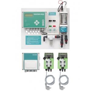 Станция дозирования и контроля уровня pH/Rx Дарин «Кристалл М», 3 л/ч при 7 бар, 50 Вт, 220 В (с мембранными насосами) арт. 03-10-000-00