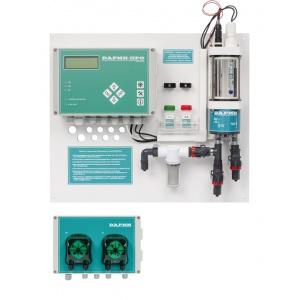 Станция дозирования и контроля уровня pH/Cl Free Дарин «Кристалл П», 4 л/ч при 1 бар, 50 Вт, 220 В (с перистальтическими насосами) арт. 03-00-000-00