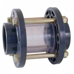 Стекло смотровое ПВХ, EPDM, SAN Cepex (клеевое), диаметр 160 мм, PN=10 арт. 02394