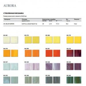 Стеклянная мозаика JNJ Aurora Starcloud 04-181 (плитка 20×20 мм), сетка 327*327 мм (в коробке 2,14 м2)