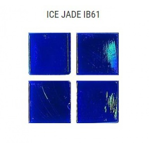 Стеклянная мозаика JNJ Ice Jade IB61 (плитка 15x15 мм)