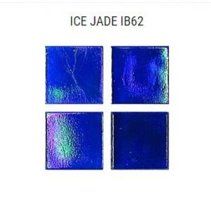 Стеклянная мозаика JNJ Ice Jade IB62 (плитка 15x15 мм)