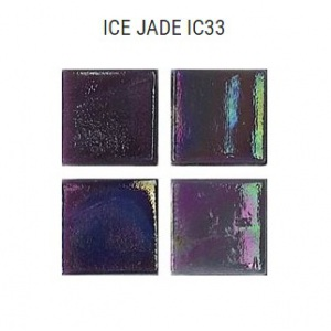 Стеклянная мозаика JNJ Ice Jade IC33 (плитка 15x15 мм)
