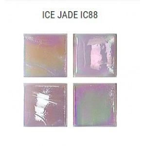 Стеклянная мозаика JNJ Ice Jade IC88 (плитка 15x15 мм)