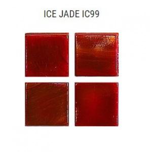 Стеклянная мозаика JNJ Ice Jade IC99 (плитка 15x15 мм)