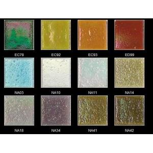 Стеклянная мозаика JNJ Iridium ED99 (плитка 20x20 мм)