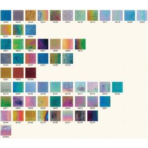 Стеклянная мозаика JNJ Iridium NC33 (плитка 20×20 мм), сетка 327*327 мм (в коробке 2,14 м2)