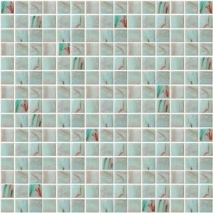Стеклянная мозаика с авантюрином JNJ Gold Link GA03 (плитка 20x20 мм)