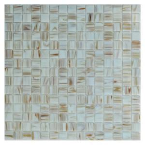 Стеклянная мозаика с авантюрином JNJ Gold Link GA10 (плитка 20x20 мм)