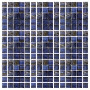 Стеклянная мозаика с авантюрином JNJ Gold Link GA63 (плитка 20x20 мм)