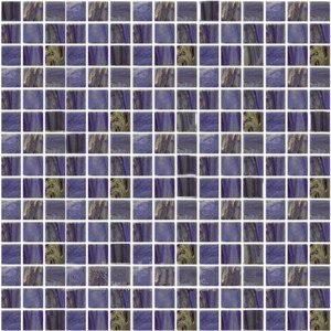 Стеклянная мозаика с авантюрином JNJ Gold Link GB67 (плитка 20x20 мм)