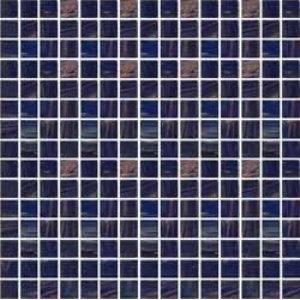 Стеклянная мозаика с авантюрином JNJ Gold Link GB68 (плитка 20x20 мм)