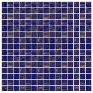 Стеклянная мозаика с авантюрином JNJ Gold Link GC61 (плитка 20x20 мм)