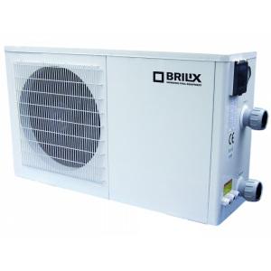 Тепловой насос Brilix XHPFD 200 для бассейнов до 90 м3, мощность подогрева 18 кВт, 2,88 кВт, 220 В арт. XHPFD-200