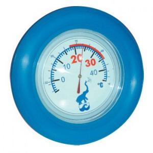 Термометр «Большой диск», диаметр 190 мм, цвет синий