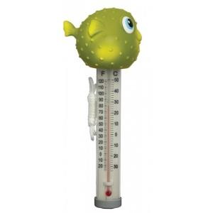 Термометр-игрушка Kokido Рыбка-фугу серия «Пучеглазики»