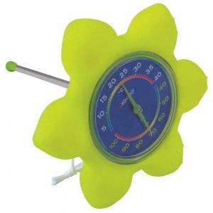 Термометр плавающий 'Цветок' Kokido /K842CBX/GRN арт. K842CBX/GRN