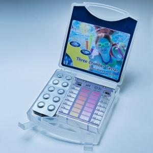 Тестер для бассейна Lovibond Cl/pH Mini без тестерных таблеток (шкала+пластиковый бокс) арт. 2300090