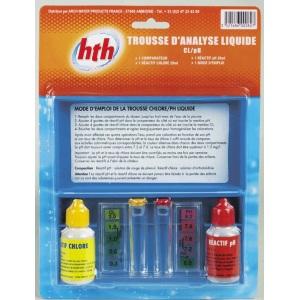 Тестер для частных бассейнов (хлор/рН) HTH арт. A850308H1
