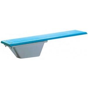 Трамплин AquaViva WFT 200B, 2000 x 280 мм, цвет голубой/слоновая кость арт. WFT200B