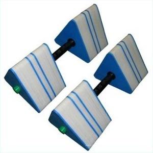 Треугольные гантели для аквааэробики ПТК-Спорт арт. 034-1123
