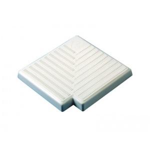 Угловая плитка 90 градусов с голубым отливом для переливной решетки (200 мм Н34) Kripsol /RR 201.С арт. RR 201.С