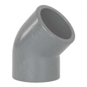 Угол 45° ПВХ 1,0 МПа d_160 мм Coraplax /7102160/ арт. 7102160