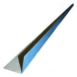 Угол крепежный 0,05 х 0,05 х 2,00 м, для пленки ПВХ (внутренний) / Flagpool