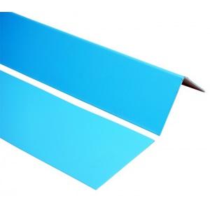 Уголок крепежный Elbtal внешний (синий)