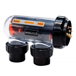 Устройство электролиза AstralPool VX 7S без часов, производительность 25 г/ч, объём бассейна 96 м3, 7 электродов арт. 41346