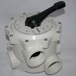 Вентиль 6-позиционный для фильтра Kripsol Balear BL, боковое подключение 2′ (V6.63В*) арт. V6.63В*