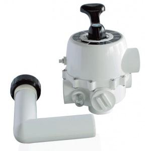 Вентиль 6-ти позиционный (боковой 1½') для фильтров S450-S650 Emaux 88280805 арт. 8882808-05
