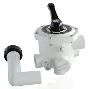 Вентиль 6-ти позиционный (боковой 2') для фильтров S700-S1200 Emaux /88280806 арт. 88280806