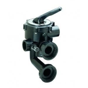 Вентиль многопозиционный AstralPool Classic с патрубком для диатомитового фильтра Clarity