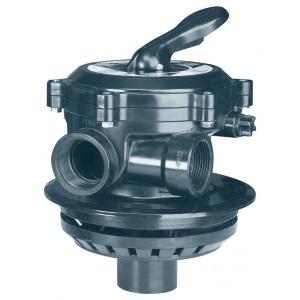 Вентиль многопозиционный AstralPool Flat с патрубком