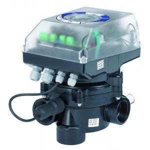 Вентиль многопозиционный автоматический AstralPool Vrac Flat, 3,5 бар, резьба 1 1/2′, конфигурация боковая, 12 м3/ч, 230 В арт. 43513
