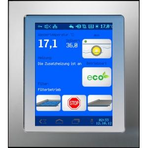 Внешняя панель управления Touch для OSF WaterFriend MRD-1/2/3 и Euromatik.net, утапливаемая, экран 172 x 195 мм арт. 212.070.0520