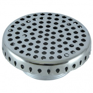 Водозабор Аквасектор круглый, 8 м³/ч, подключение НР 2′, под плитку, AISI-304 арт. АС 08.002