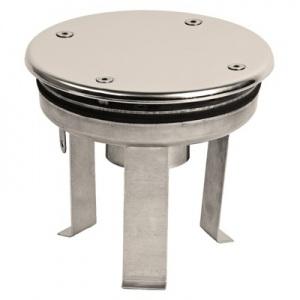 Водозабор Xenozone с антивихревой крышкой д.165 (плитка) G2′ (внутр.) нержавеющая сталь AISI-316 /ВЗ.620.1/1 арт. ВЗ.620.1/1