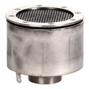 Водозабор Xenozone с сетчатой крышкой д.165×100 (плитка) G3′ (боковое) (наружн.) нержавеющая сталь AISI-304 /ВЗ.625.3-1/ арт. ВЗ.625.3-1