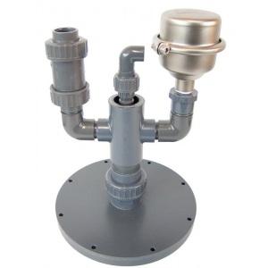 Воздушный клапан с арматурой для фильтровальных емкостей Dinotec Public 610/765/910 арт. 0984-304-00
