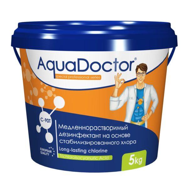 Дезинфектант AquaDoctor C-90T таблетки, 5 кг