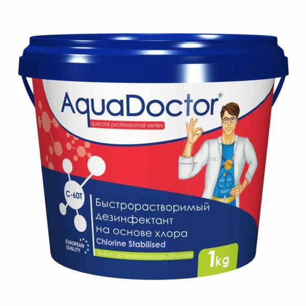 Дезинфектант AquaDoctor C-60T таблетки, 1 кг