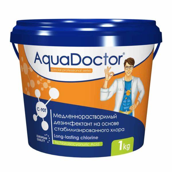 Дезинфектант AquaDoctor C-90T таблетки, 1 кг