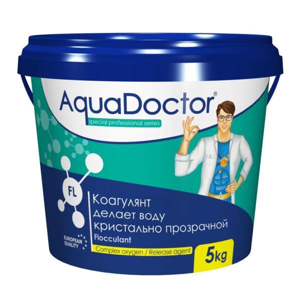 Коагулянт AquaDoctor FL гранулы, 5 кг