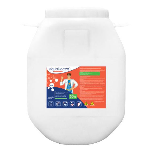 Дезинфектант AquaDoctor C-60 гранулы, 50 кг