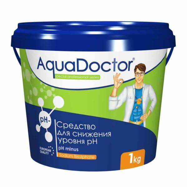 pH-минус гранулы AquaDoctor, 1 кг